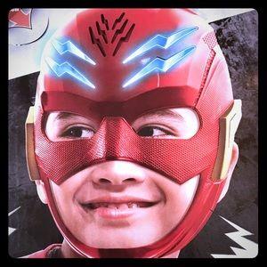 The Flash Hero Mask Halloween Costume Electronic